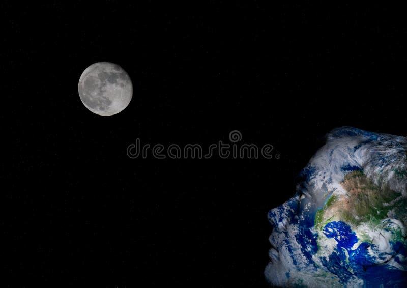 地球表面 库存照片