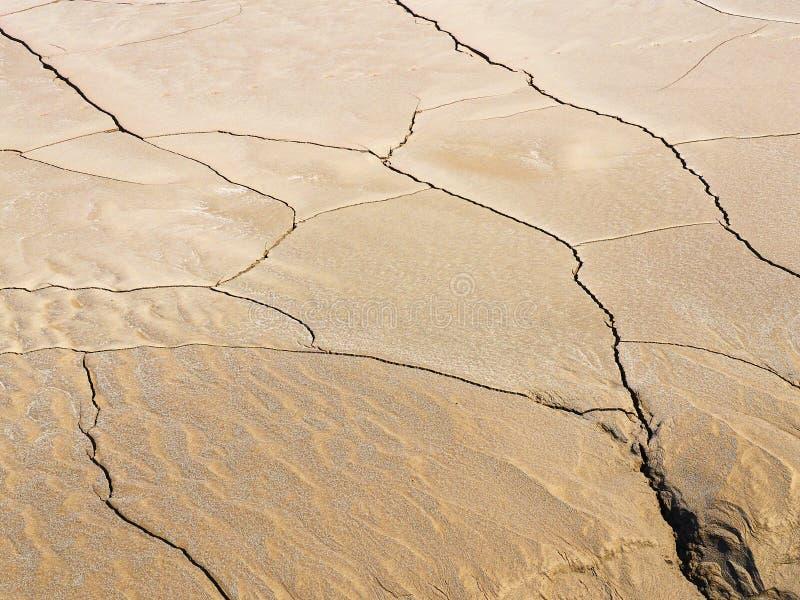 地球裂痕 免版税库存照片