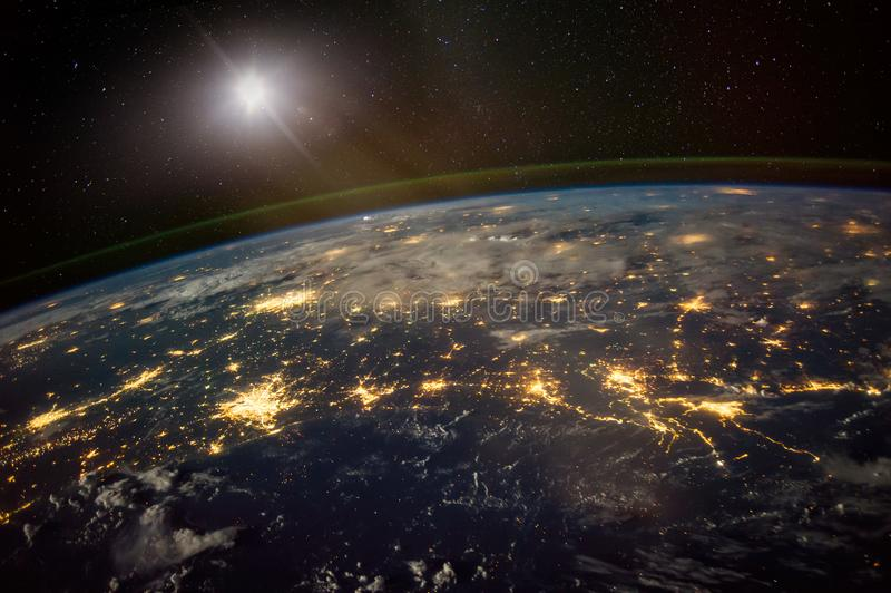 地球观测 免版税库存照片