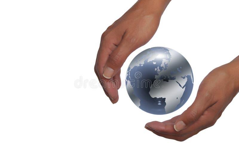 地球递藏品行星 免版税库存图片