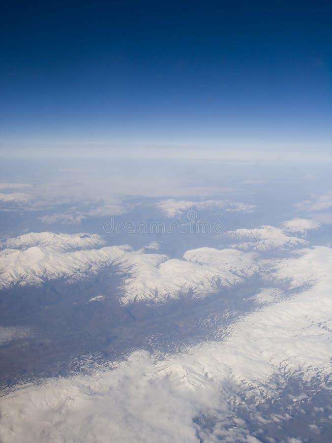 地球高峰 免版税图库摄影
