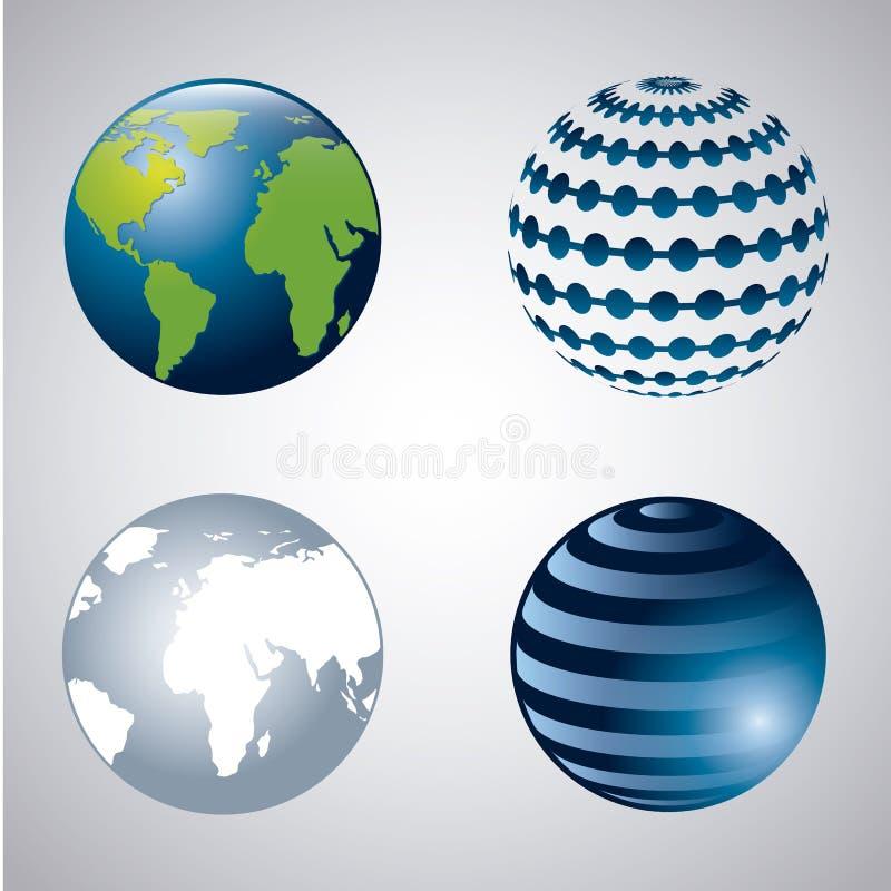 Download 地球 库存例证. 插画 包括有 全球, 概念, 地理, 行星, 背包, 闹事, 图标, 轨道, 外面, 环境 - 30333263