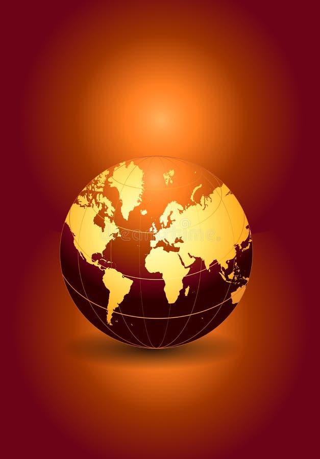 地球 皇族释放例证