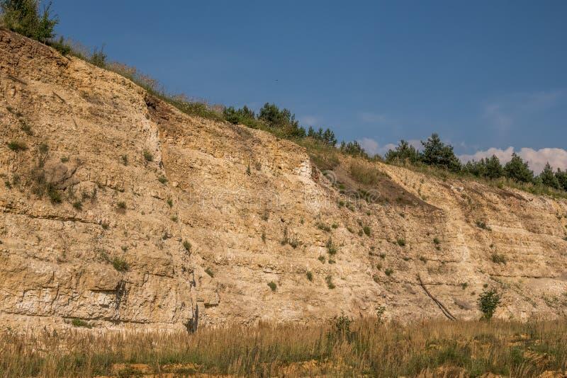 地质露出 免版税库存图片