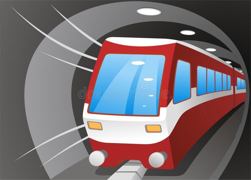 地铁例证 向量例证