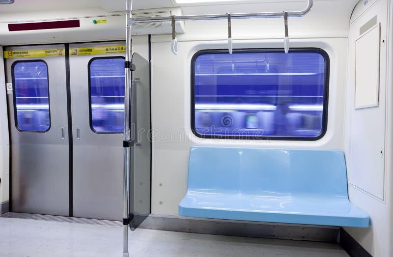 地铁空位 库存照片