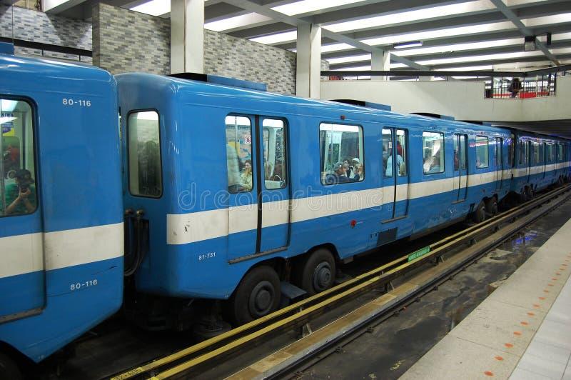 地铁蒙特利尔地铁 免版税库存照片