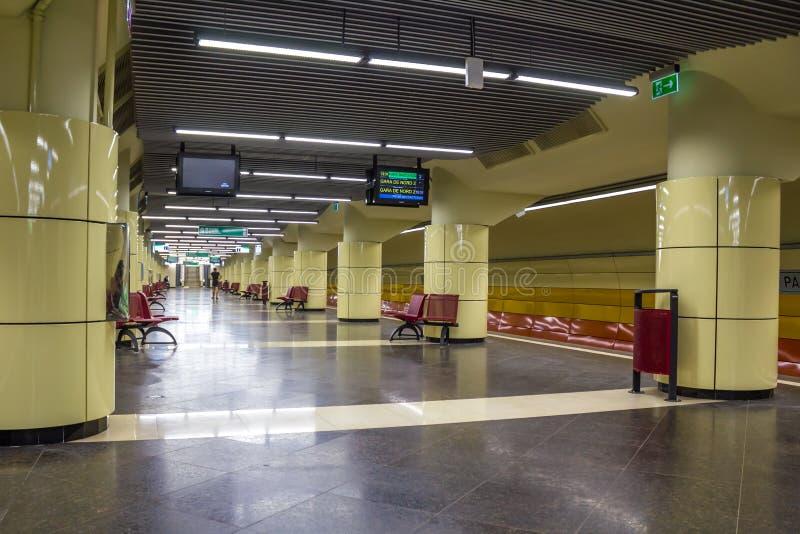 地铁车站 库存照片