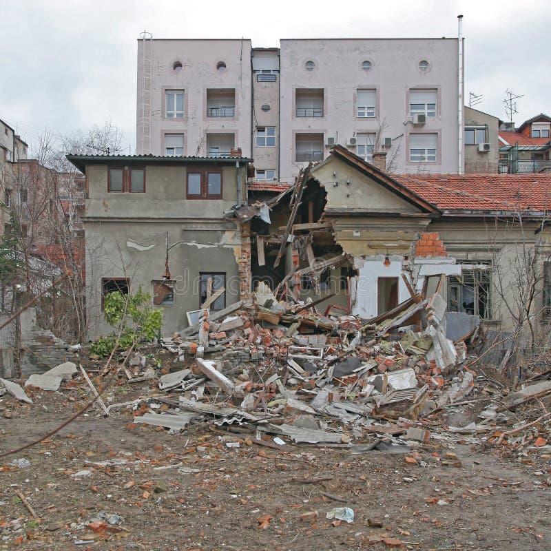 地震大厦 库存图片