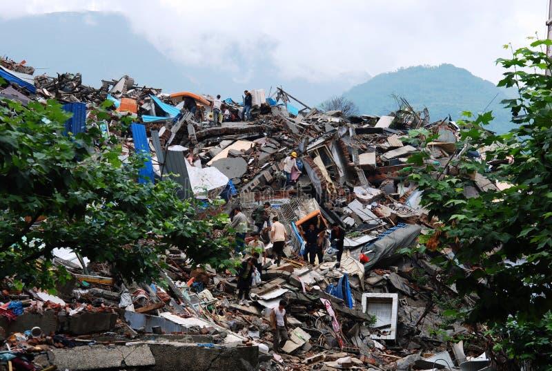 地震 免版税库存照片