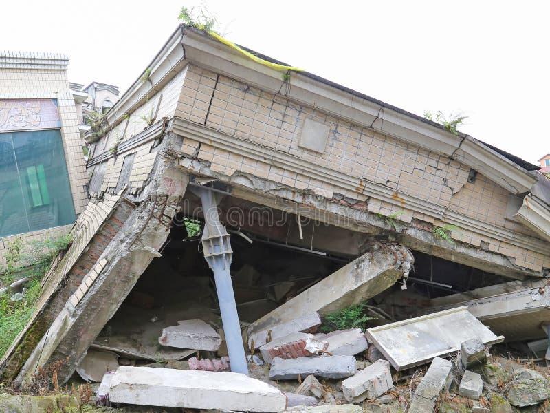 地震 图库摄影