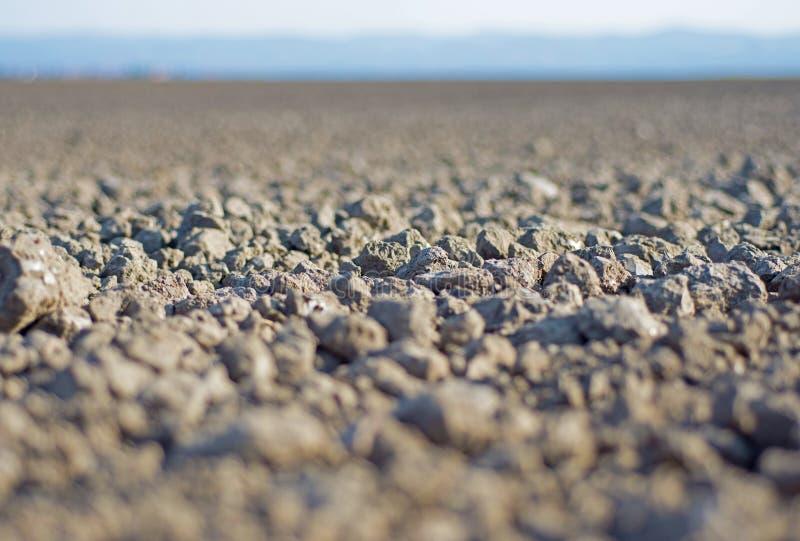 地面接近  可耕的背景地球好地产耕了 土壤背景 图库摄影