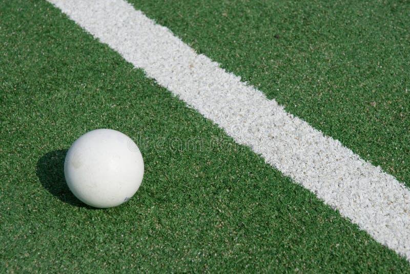 地面曲棍球体育运动 免版税图库摄影