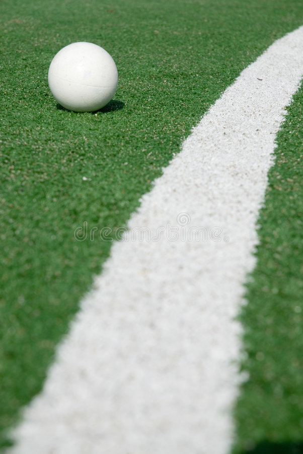 地面曲棍球体育运动 库存图片