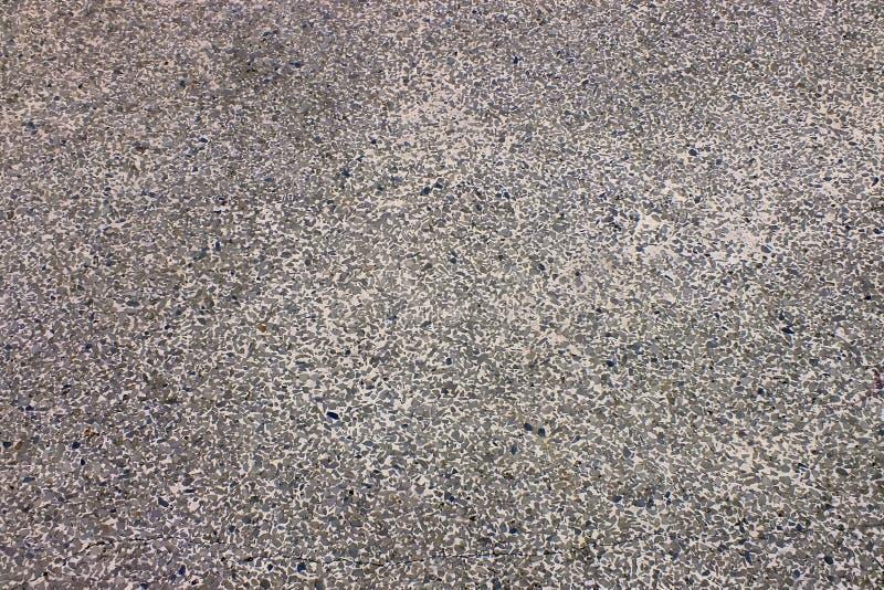 地面黑沙子纹理  免版税库存照片