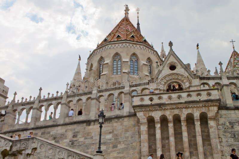 场面在布达佩斯,匈牙利 图库摄影