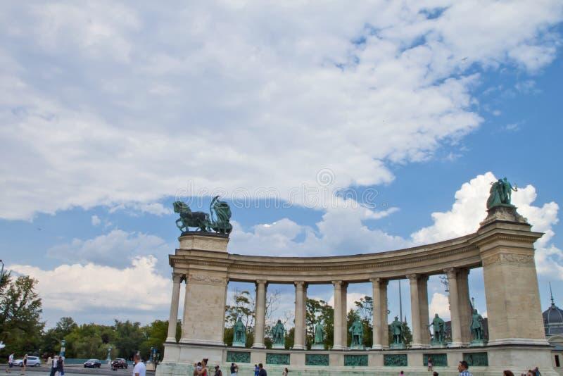场面在布达佩斯,匈牙利 免版税图库摄影