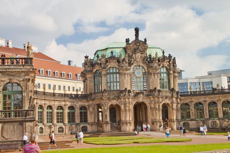 场面在德累斯顿,德国 免版税图库摄影