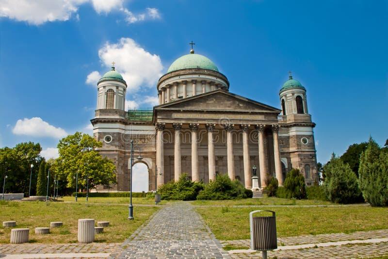 场面,埃斯泰尔戈姆城堡匈牙利 图库摄影