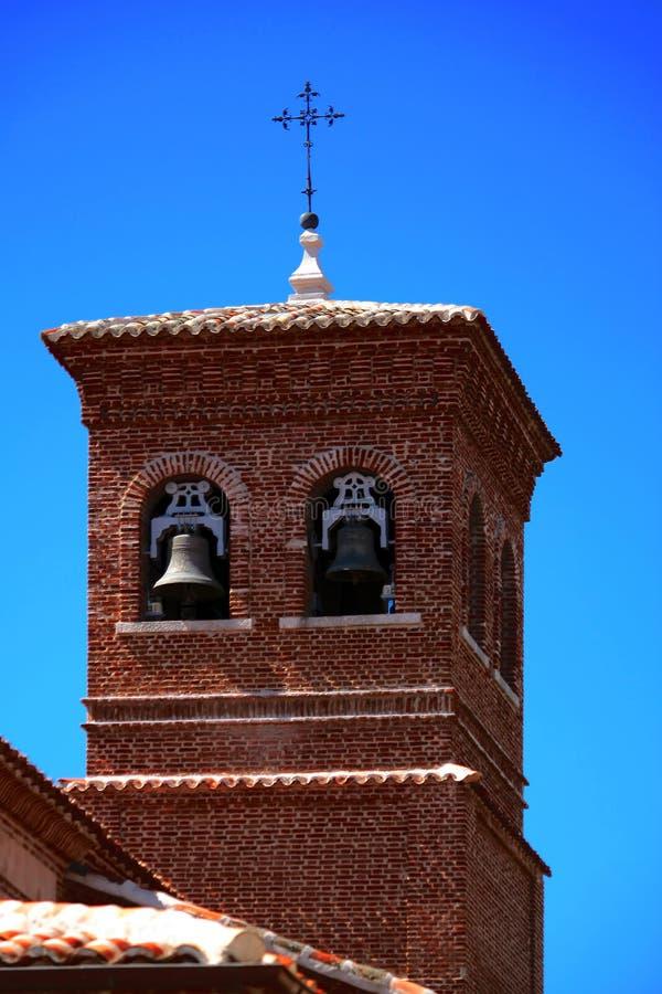 坎帕纳里奥峰圣塞瓦斯蒂安Martir 免版税库存图片