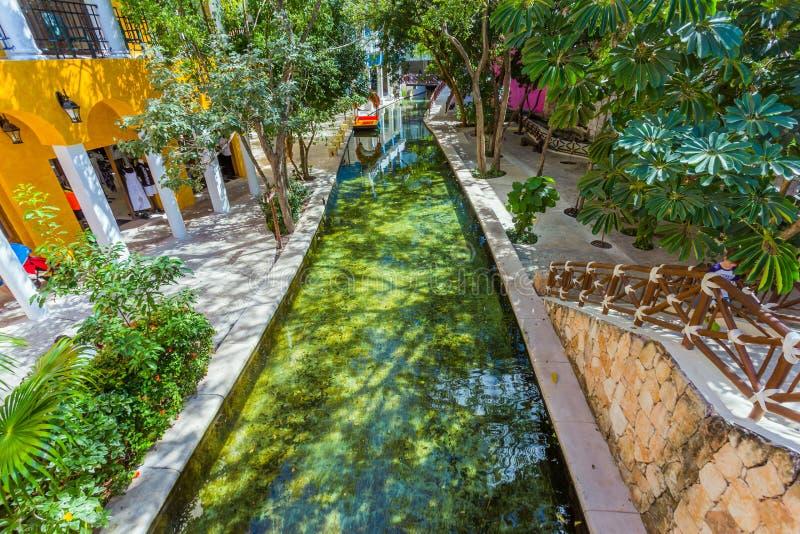 坎昆的旅馆 墨西哥 免版税库存照片