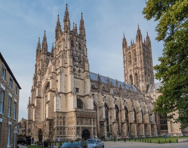坎特伯雷大教堂英国 免版税库存照片