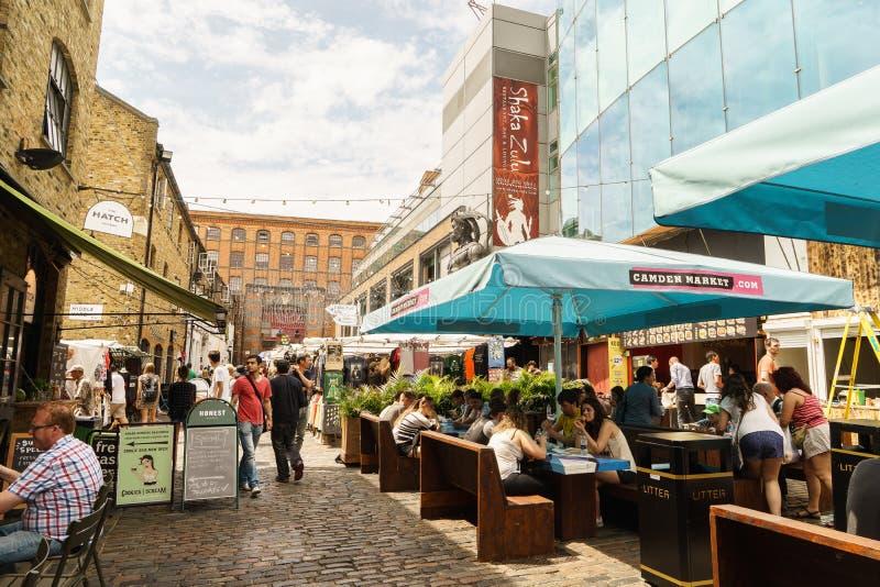 坎登市场,伦敦 库存图片