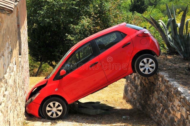 坏停车 免版税库存照片
