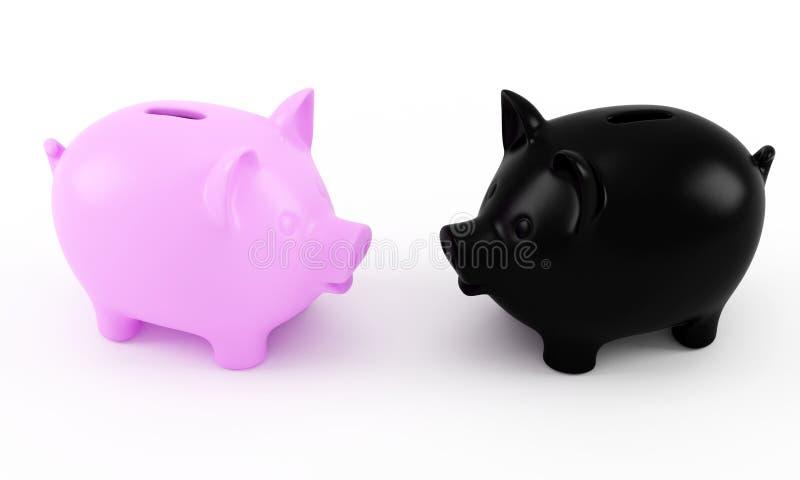 Download 坏好储蓄 库存例证. 插画 包括有 成块, 现金, 贪心, 硬币, 概念性, 储蓄, 背包, 粉红色, 横幅提供资金的 - 22356708