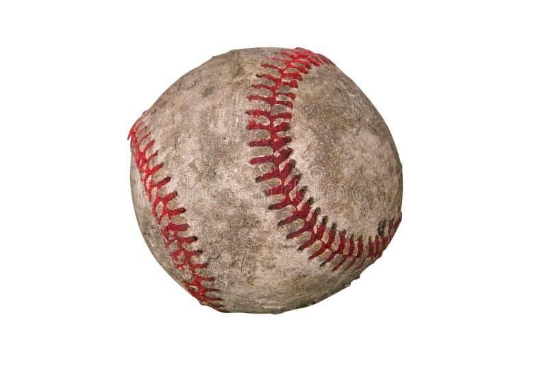 坏的棒球 库存图片
