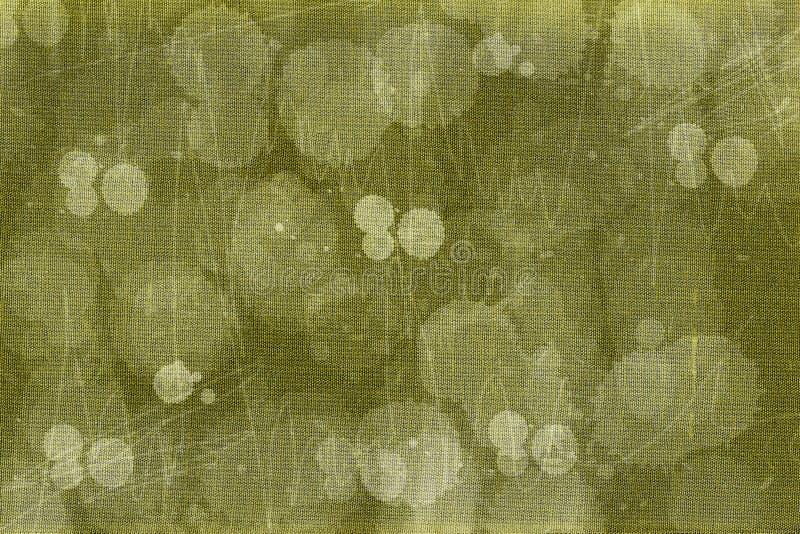 坏的织品绿色纹理 免版税库存照片