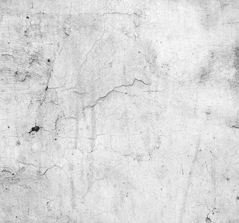 坏的脏的墙壁 库存例证