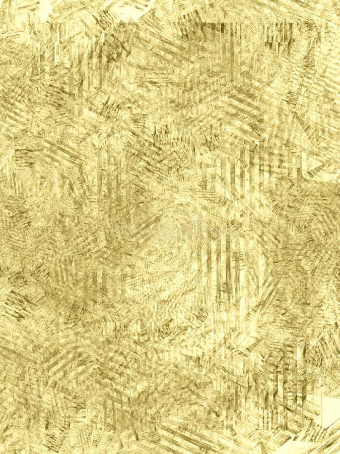 坏的grunge纸张纹理 皇族释放例证