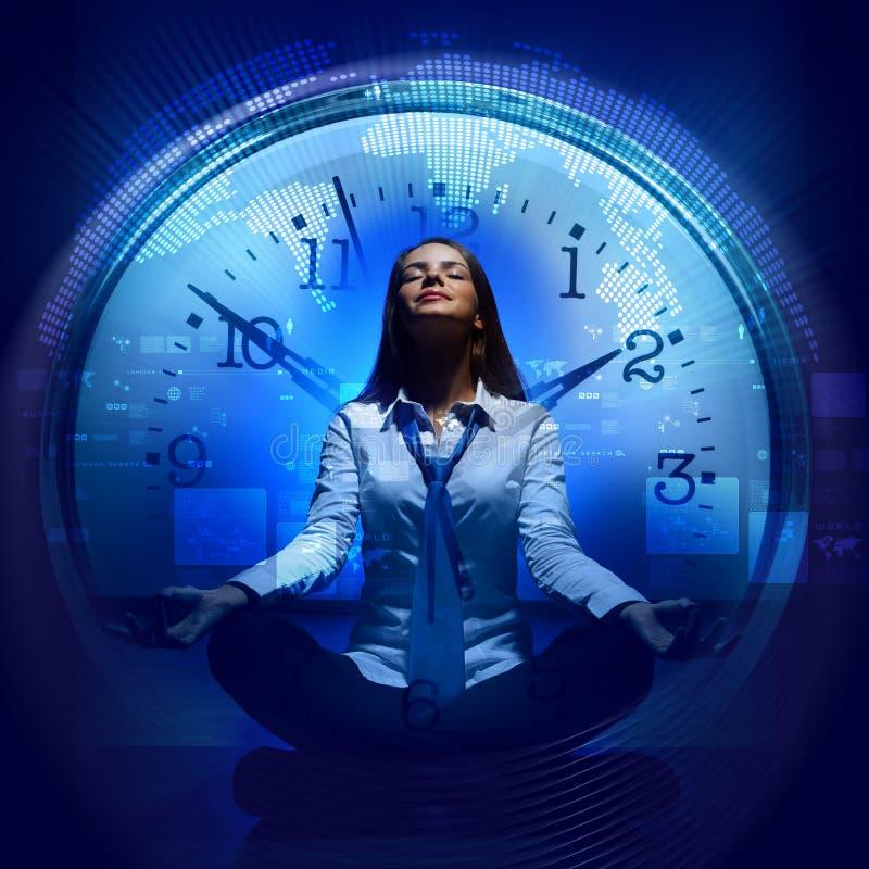 时钟。 时间概念 免版税图库摄影