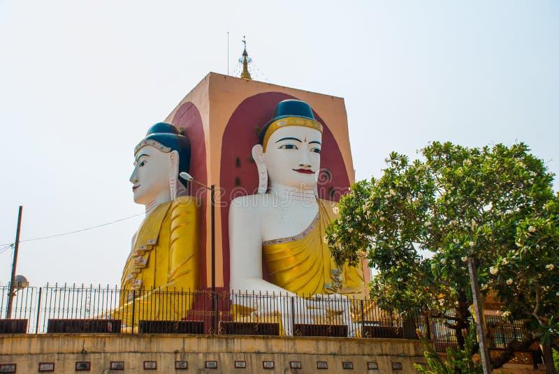 Download 坐Buddhas四个雕象  塔Kyaikpun菩萨 Bago,缅甸 缅甸 库存照片 - 图片 包括有 布琼布拉, 雕塑: 72362580