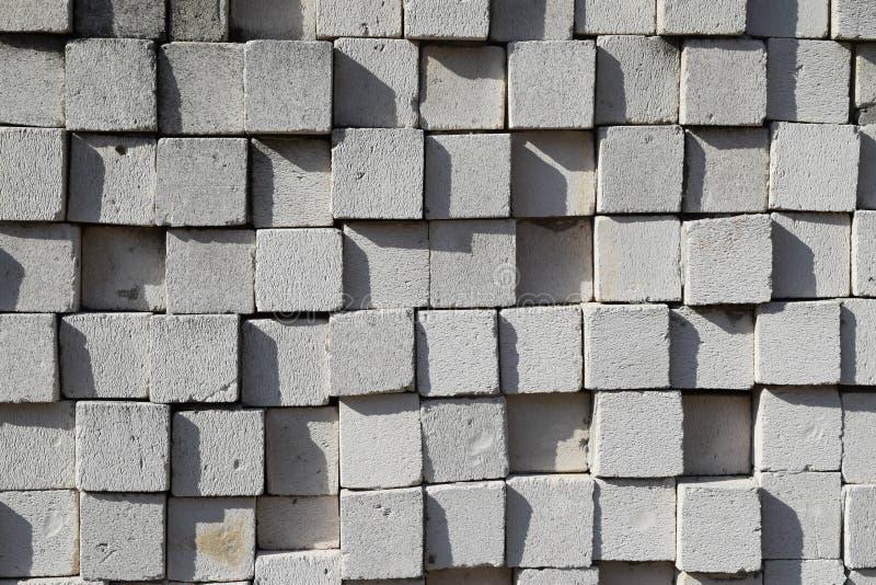 块和砖任意样式建筑 库存照片