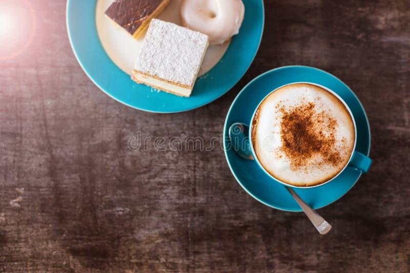 结块咖啡 免版税库存图片