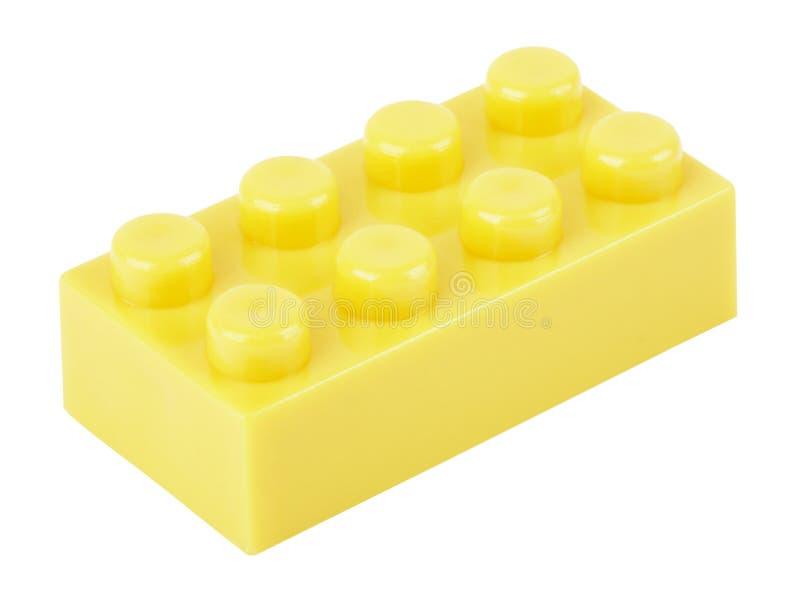 块大厦lego一 库存照片