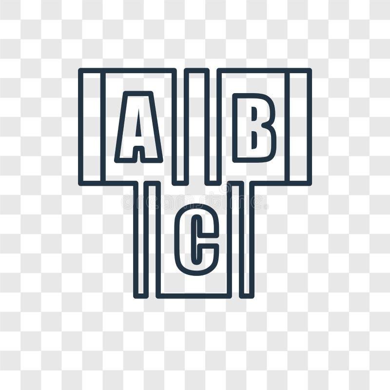 块戏弄在透明ba隔绝的概念传染媒介线性象 皇族释放例证