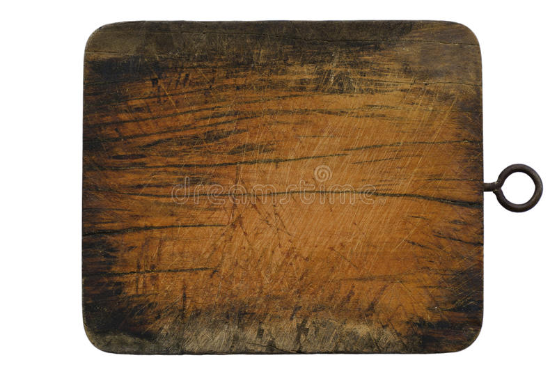 块查出的木头 免版税图库摄影