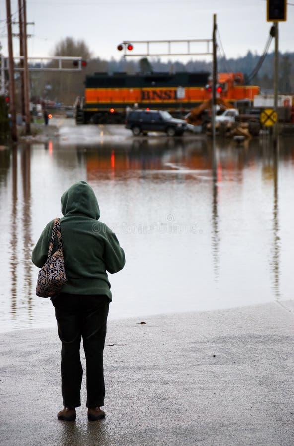 块洪水 免版税库存图片