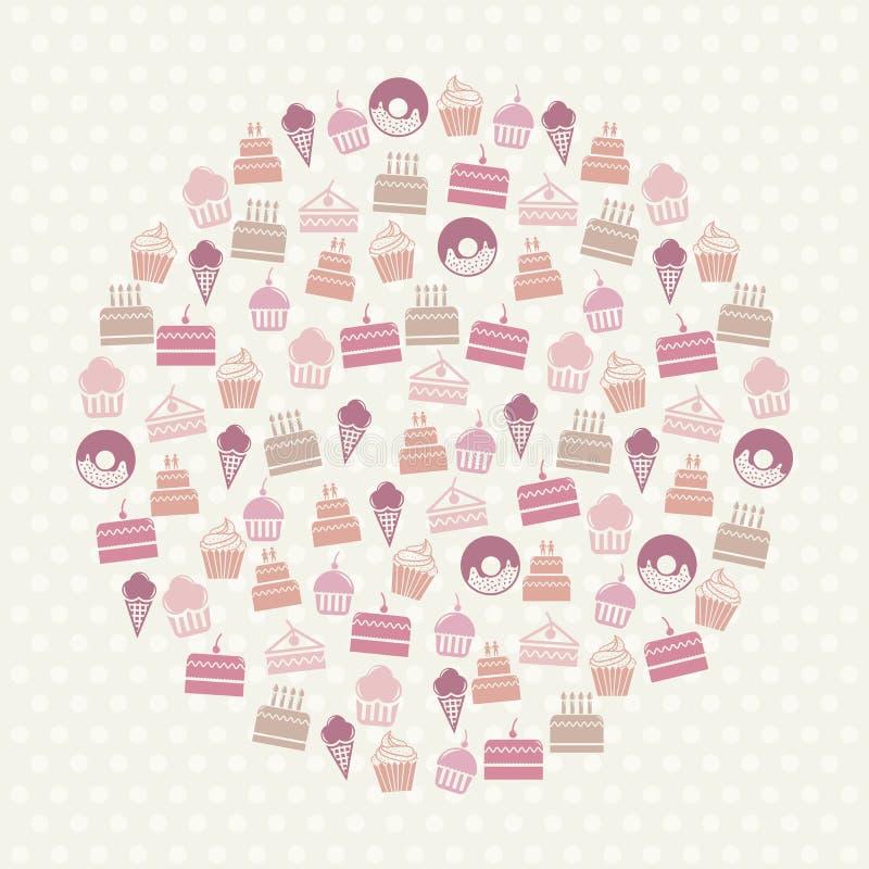 Download 结块象 向量例证. 插画 包括有 面团, 膳食, 蛋糕, 逗人喜爱, 圈子, 蜡烛, 粉红色, 自创, 装饰 - 30333900