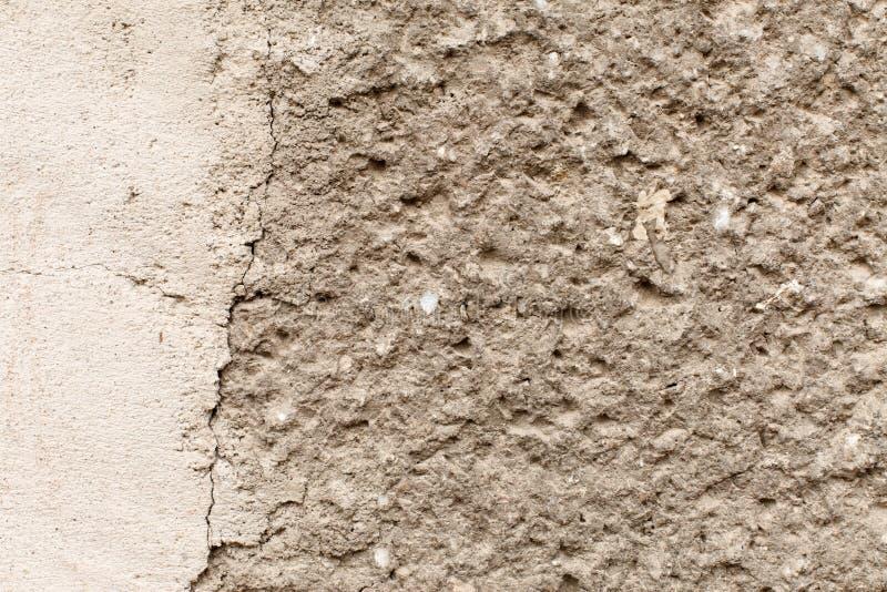 坚固性混凝土墙 免版税图库摄影