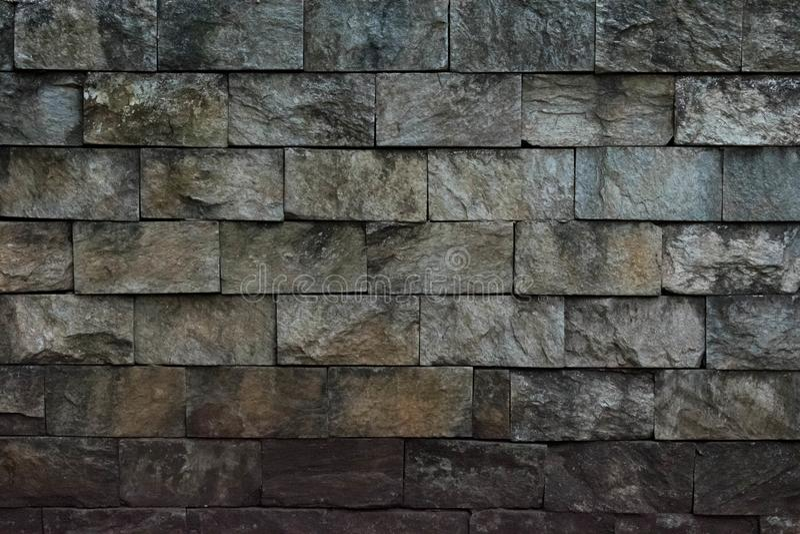坚固性砖墙纹理 免版税库存图片
