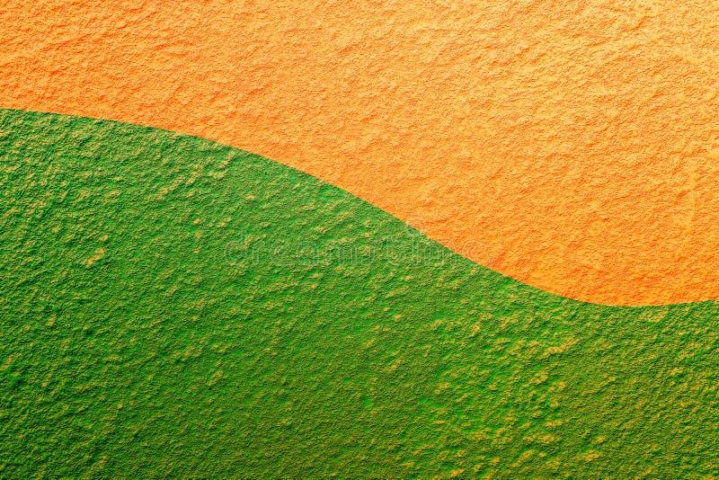 坚实棕色,绿色和金子颜色摘要背景 免版税库存照片