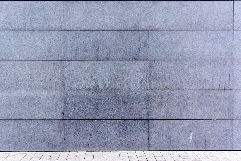 坚实灰色墙壁 图库摄影