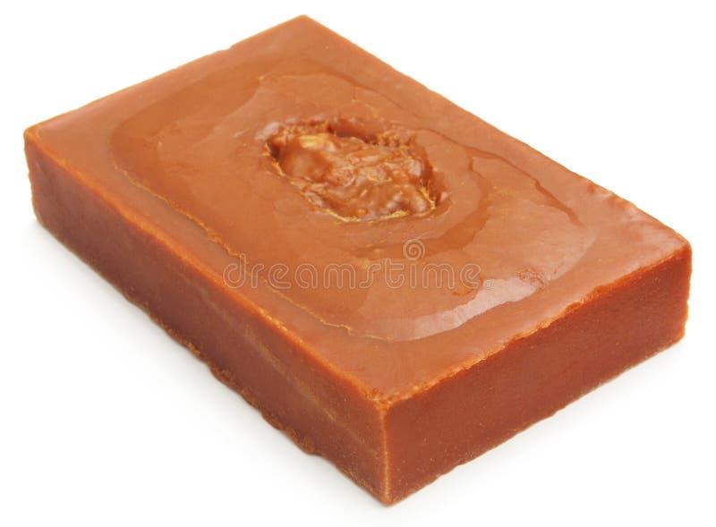 坚硬糖浆或Patali gur 库存图片