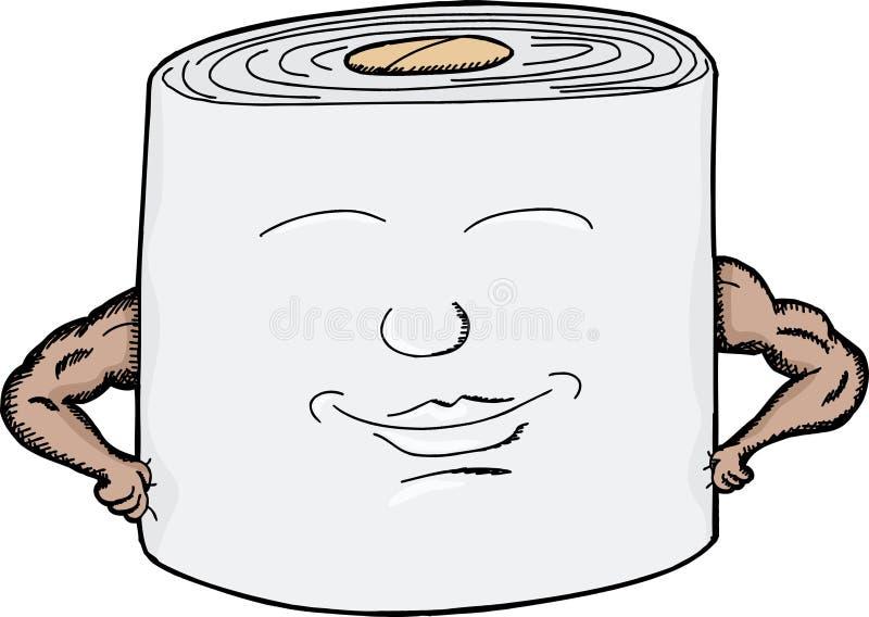 坚韧卫生纸 向量例证