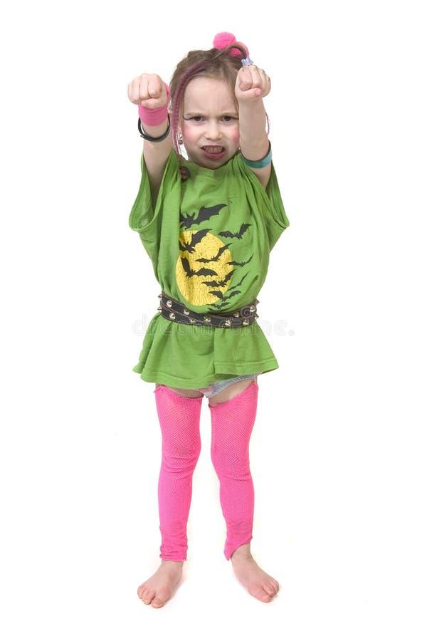 坚韧的女孩 免版税库存图片