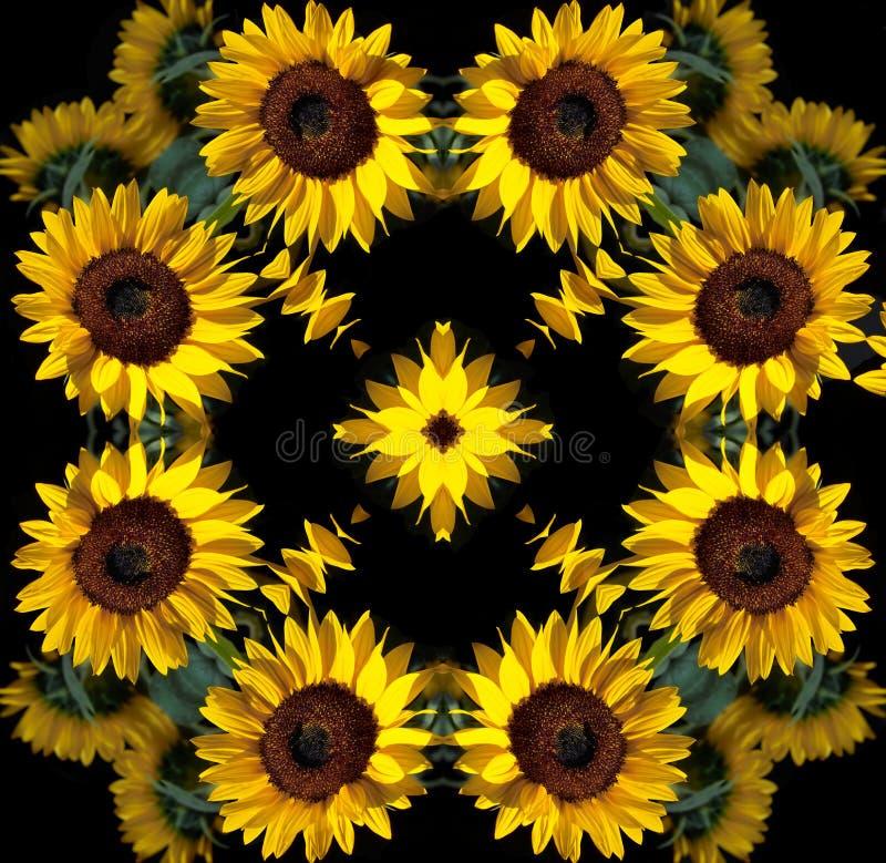 Download 坛场向日葵 库存例证. 插画 包括有 万花筒, 来回, 星形, 凝思, 形状, 表单, 圈子, 抽象, 颜色 - 283986